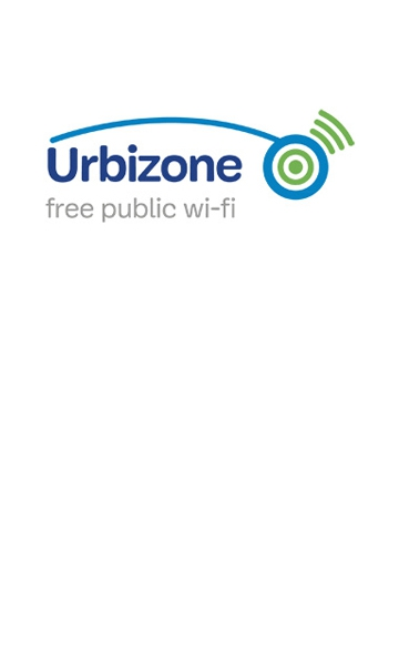 Logo of Urbizone, the Brussels-Capital Region's free wireless network