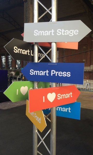 Photo d'ambiance au premier Brussels Smart City Event