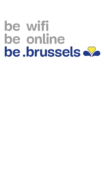 Be wifi, be on line, be .brussels with Urbizone