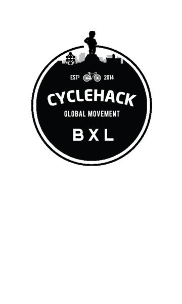 Logo of Cyclehack BXL - biking solutions for smart city