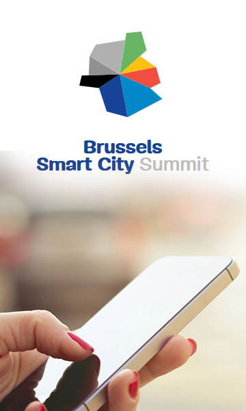 Capture d'écran du site internet du Brussels Smart City Summit