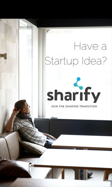 Sharify - Have a startup idea?
