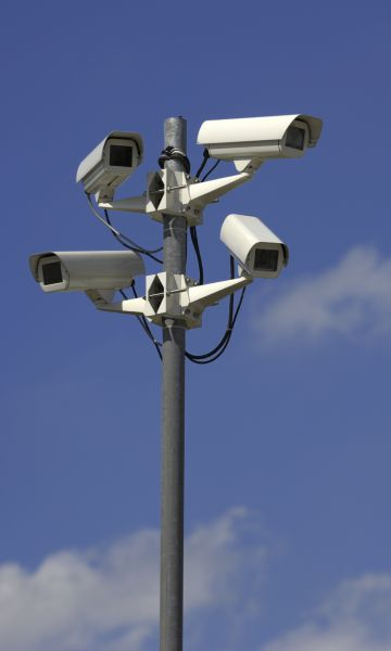 Public CCTV cameras in the Brussels smart city
