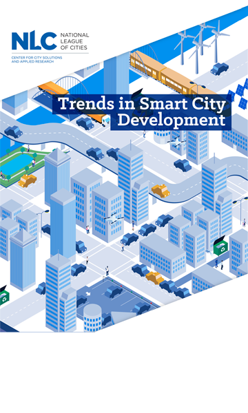 Cover of the NLC's report Trends in Smart City Development