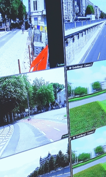 Smart city: sharing images from CCTV cameras