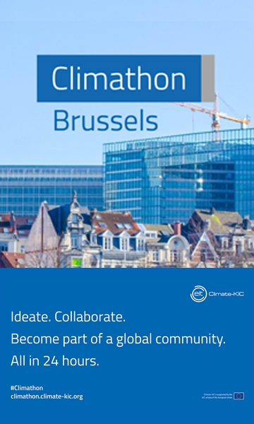 The Brussels Climathon poster