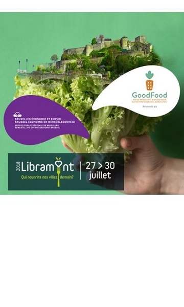 The Agriculture Team of Brussels Economy and Employment present at the Libramont Fair