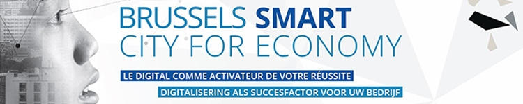 Affiche événement Brussels Smart City for Economy
