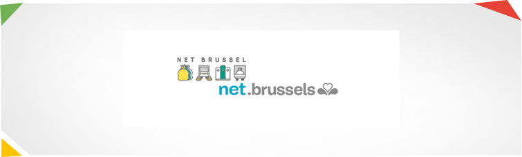 Website van Net Brussel