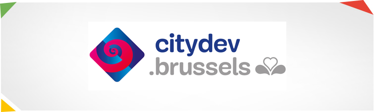 Website van citydev.brussels