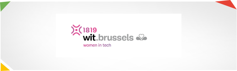 Website van Women in Tech.Brussels